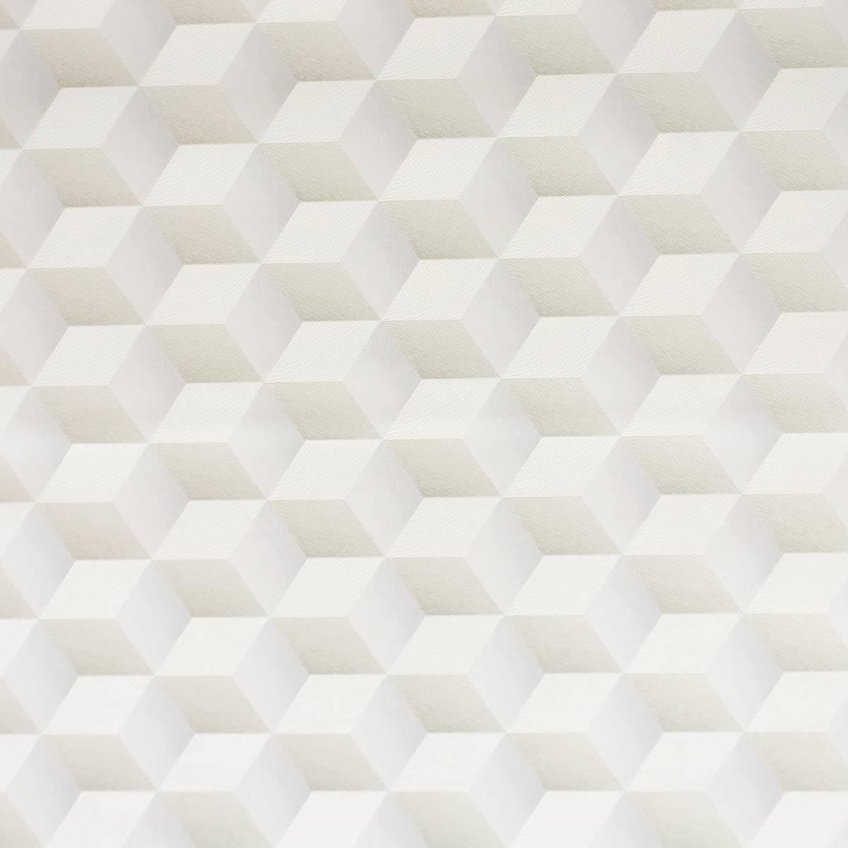 Square 3d wallpaper gold white 28352022 casadeco for 3d wallpaper for home uk
