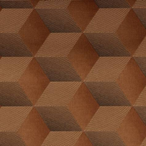 Casadeco Chrome Wallpapers Square 3D Wallpaper - Copper - 28353110