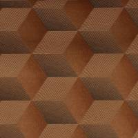 Square 3D Wallpaper - Copper