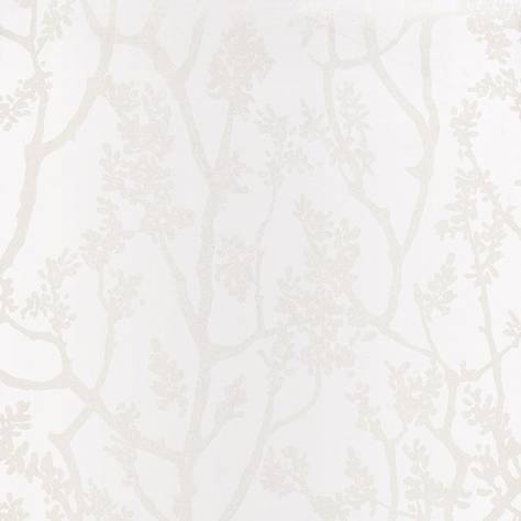 Casadeco Innocence Fabrics & Wallpapers Arbre Wallpaper - Blanc - 27541134