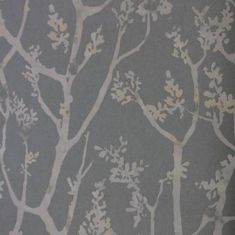 Casadeco Innocence Fabrics & Wallpapers Arbre Wallpaper - Anthracite - 27549522