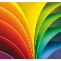 Paper Rainbow Wallpanel - Multicouleurs