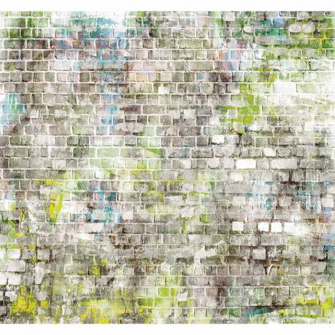 Casadeco So Wall 2 Brick Lane Wallpanel - Vert - 27267231