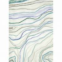 Agate Wallpanel - Bleu