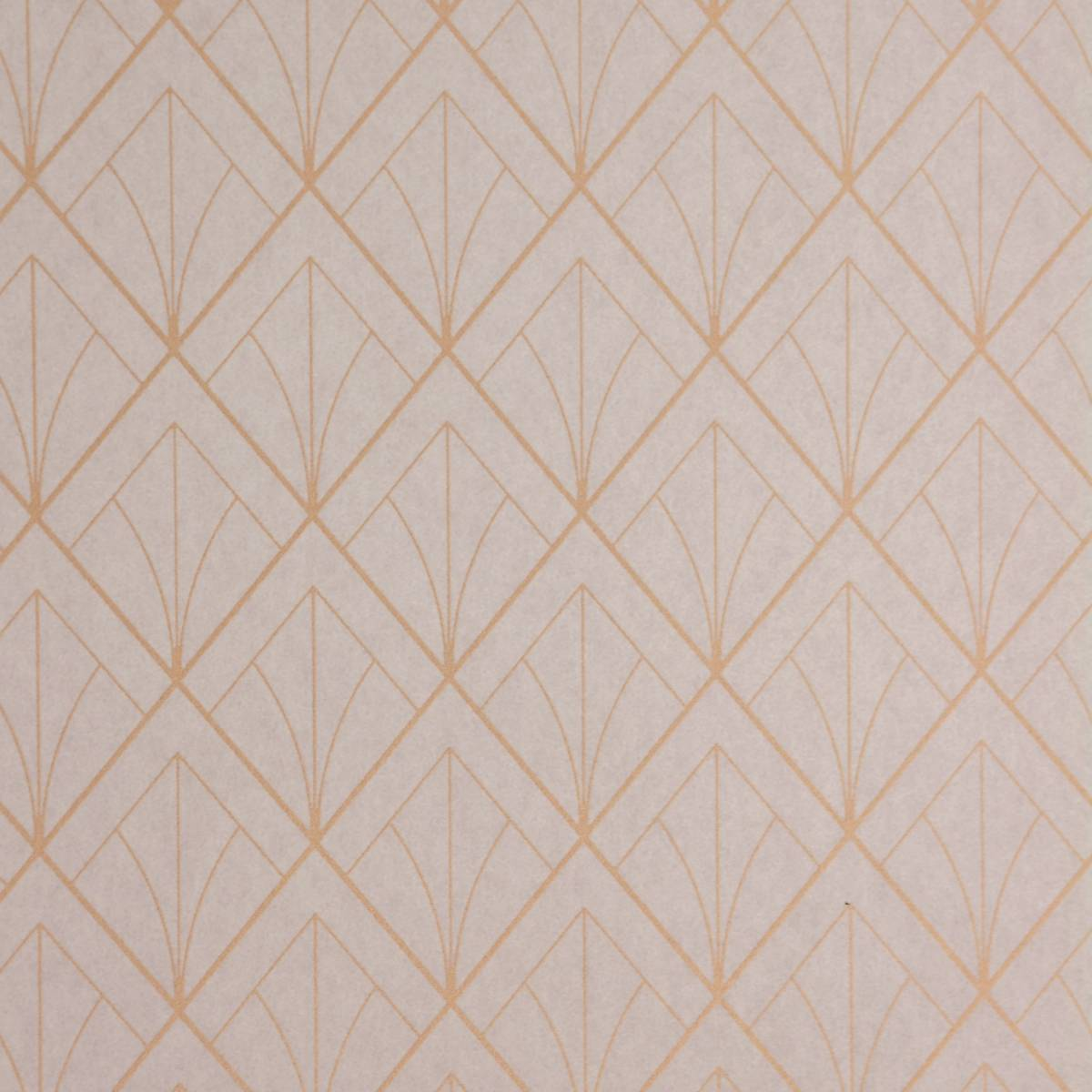 Art deco wallpaper copper 28891309 casadeco louise for Bargain wallpaper