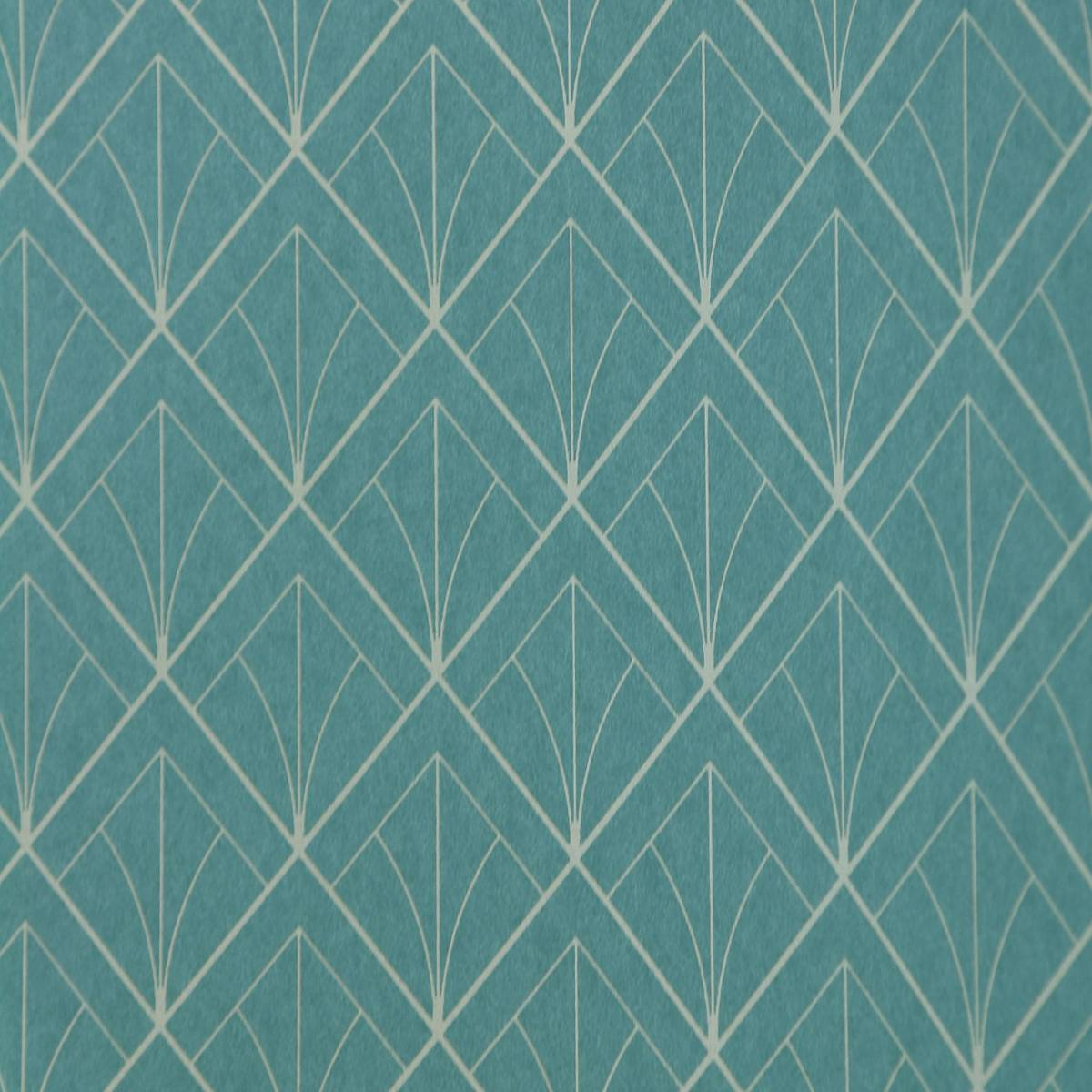 Art deco wallpaper turquoise 28896523 casadeco for Cheap wallpaper uk