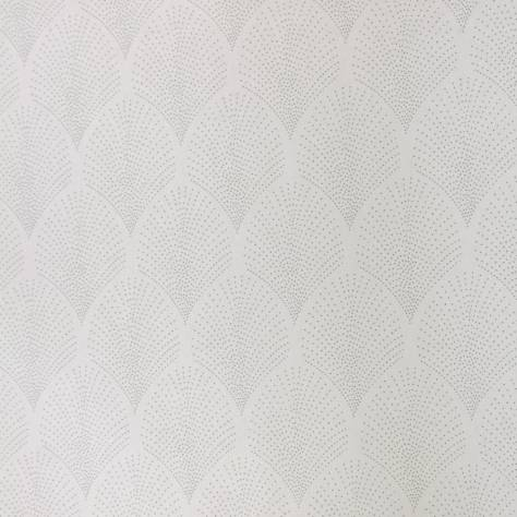 Casadeco Louise Wallpapers Petite Palmette Wallpaper - Grey - 28909312