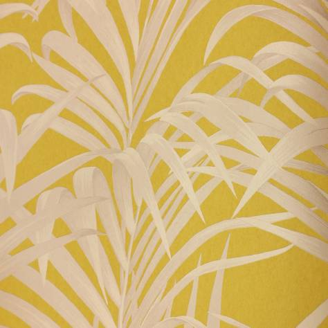 Casadeco Louise Wallpapers Fougeres Wallpaper - Yellow - 28922021