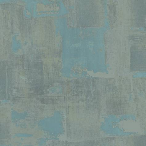 Casadeco Oxyde Wallpapers Matiere Wallpaper - Turquoise - 29176127