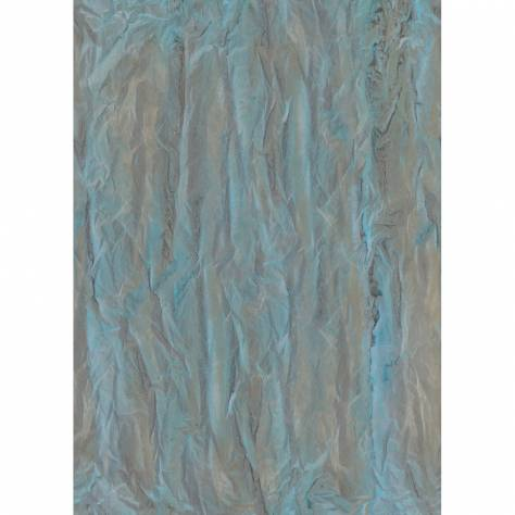 Casadeco Oxyde Wallpapers Froisse Wallpanel - Blue - 29186100