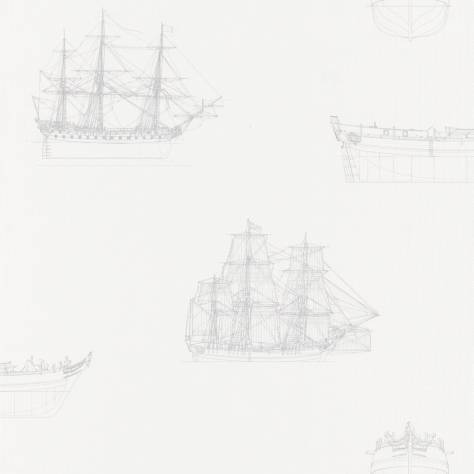 Casadeco Baltic Wallpapers Maquette Wallpaper - White/Grey - 29269112