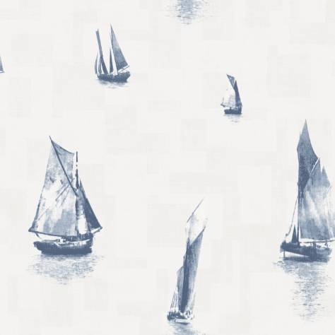 Casadeco Baltic Wallpapers Bateaux Wallpaper - Marine - 29276513