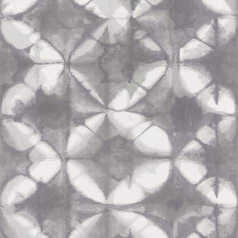Casadeco Intuition Wallpapers Shibori Wallpaper - Black - 80361601