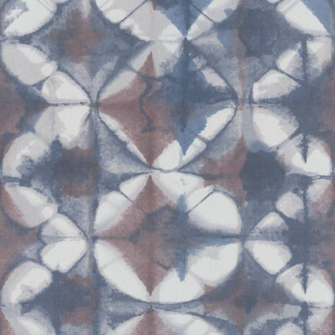 Casadeco Intuition Wallpapers Shibori Wallpaper - Blue - 80366824