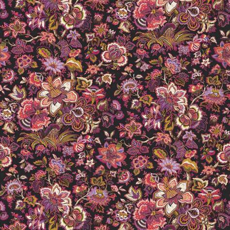 Casadeco Silk Road Wallpapers Panoramique Bangalore Wallpanel - Rose - 81394101