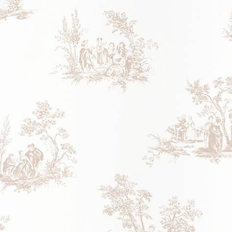 Casadeco Fontainebleau Wallpaper Fontainebleau Scene Bucolique Wallpaper - 81511103