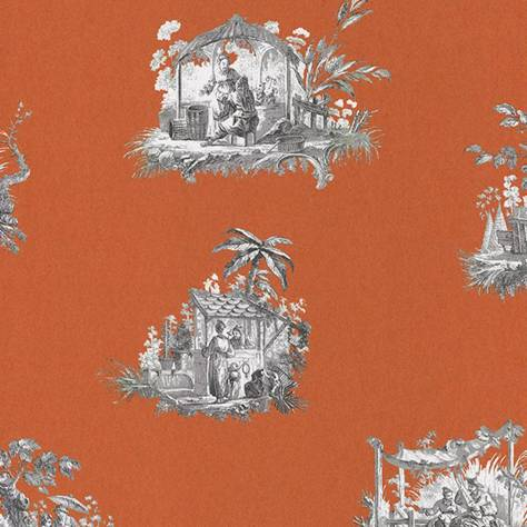 Casadeco Fontainebleau Wallpaper Fontainebleau Chinoiserie Wallpaper - 81543101