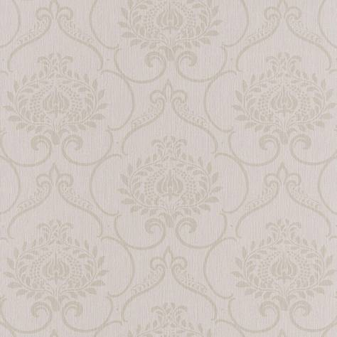 Casadeco Haussmann Wallpapers Haussmann Parure Wallpaper - Grege - 82121270