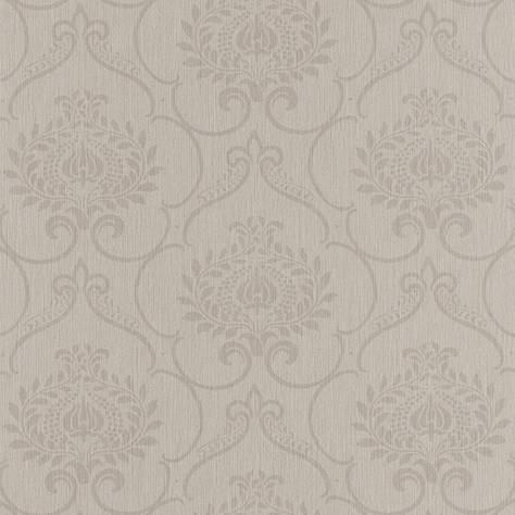 Casadeco Haussmann Wallpapers Haussmann Parure Wallpaper - Taupe - 82121381