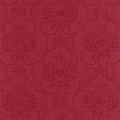Casadeco Haussmann Wallpapers Haussmann Parure Wallpaper - Rouge - 82128358