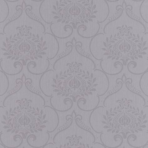 Casadeco Haussmann Wallpapers Haussmann Parure Wallpaper - Gris - 82129383