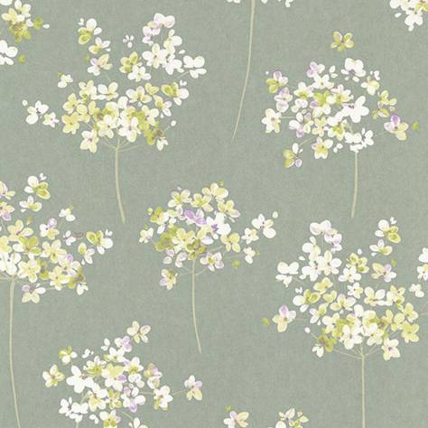 Casadeco Florescence Fabrics and Wallpapers Boboli Wallpaper - Vert - 82337337