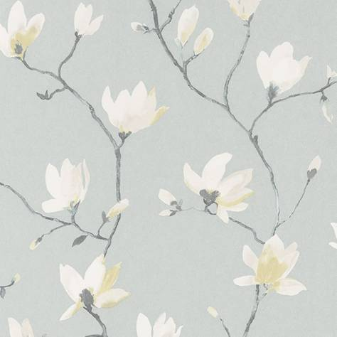 Casadeco Florescence Fabrics and Wallpapers Suzhou Wallpaper - Encre - 82366122
