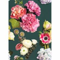 Luxuriante Panoramique Wallpanel - Rose