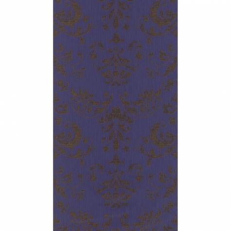 Casadeco Signature Wallpapers Palace Wallpaper - Ardoise/Cuivre - 81999124