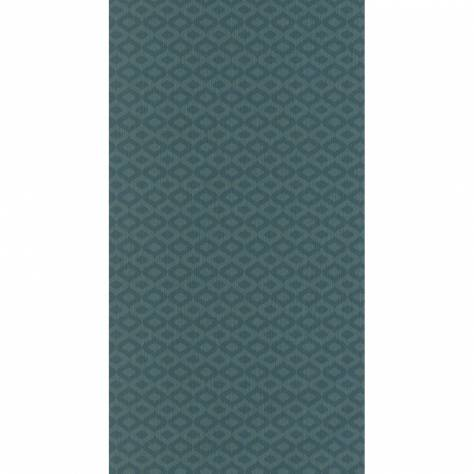 Casadeco Signature Wallpapers Vendome Wallpaper - Turquoise - 82006138