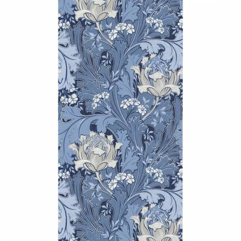 Casadeco Oxford Fabrics and Wallpapers Jane Wallpaper - Bleu - OXFD84066319