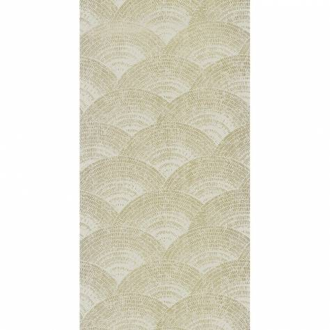 Casadeco Oxford Fabrics and Wallpapers Walter Foil Wallpaper - Amande - OXFD84097230