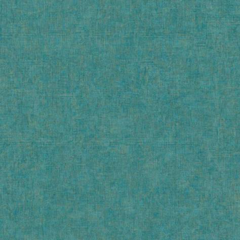 Casadeco Beauty Full Colour Wallpapers Sloane Square Wallpaper - Turquoise Iridescent - 81926127