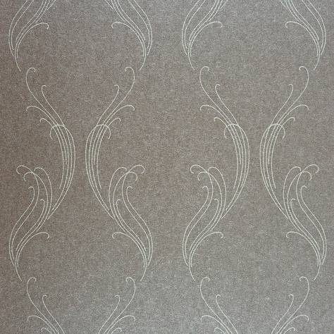 Casadeco Exception Wallpaper Ornement Wallpaper - Taupe - 25251210
