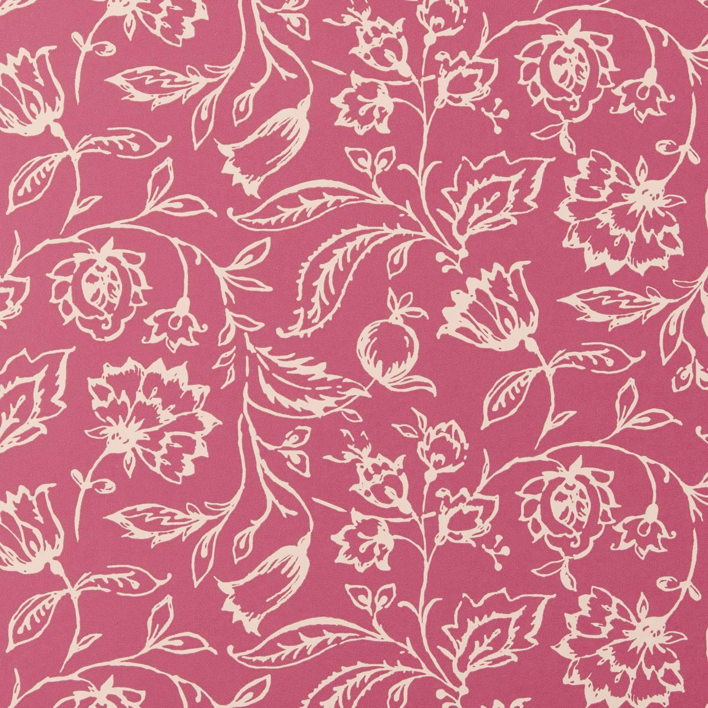marie wallpaper raspberry w0031 06 clarke clarke