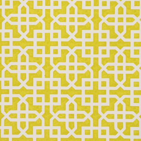 Clarke & Clarke Colony wallpapers Monserrat Wallpaper - Citron - W0084/01