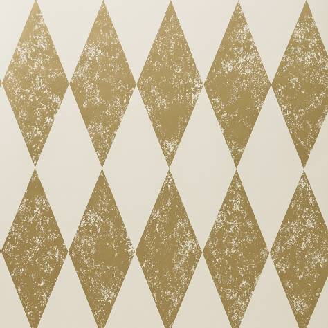 Clarke & Clarke Colony wallpapers Tortola Wallpaper - Gold - W0087/02