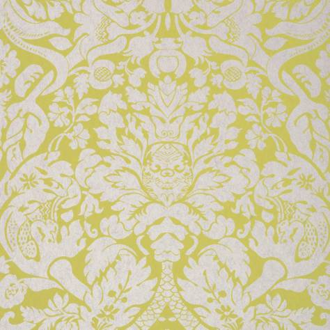 Clarke & Clarke Colony wallpapers Valentina Wallpaper - Citron - W0088/01