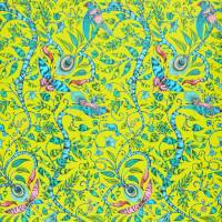 Emma J Shipley Rousseau Wallpaper - Lime