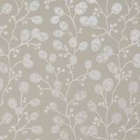 Honesty Wallpaper - Ivory / Linen