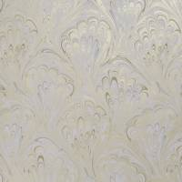 Pavone Wallpaper - Ivory / Gold