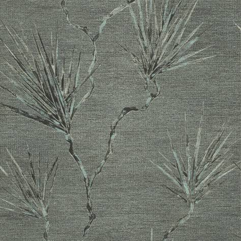 Anthology Anthology 01 Wallpaper Peninsula Palm Wallpaper - Slate - 110819
