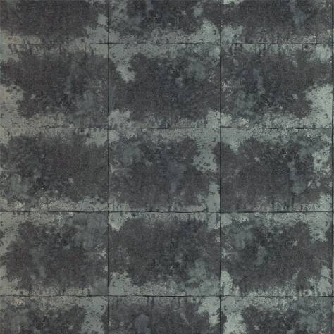 Anthology Anthology 03 Wallpaper Oxidise Wallpaper - Graphite/Titanium - 111161
