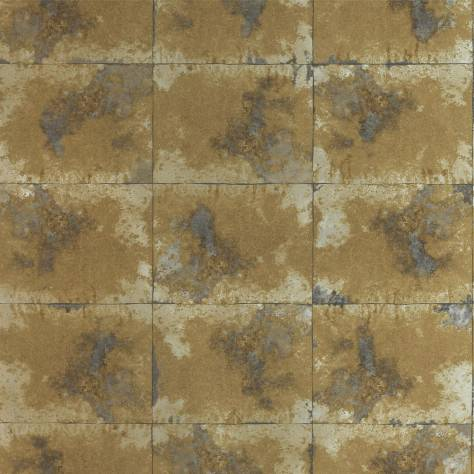 Anthology Anthology 03 Wallpaper Oxidise Wallpaper - Saffron/Graphite - 111163