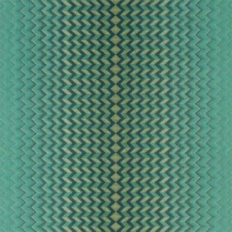 Anthology Anthology 05 Wallpaper Modulate Wallpaper - Emerald/Kingfisher - 111872