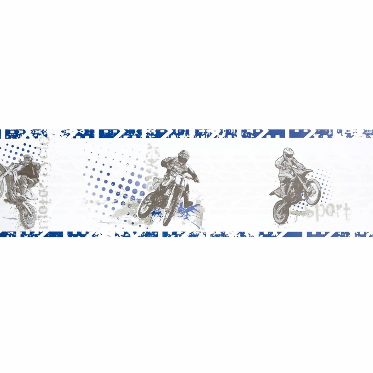 motocross wallpaper border blue 64826050 caselio