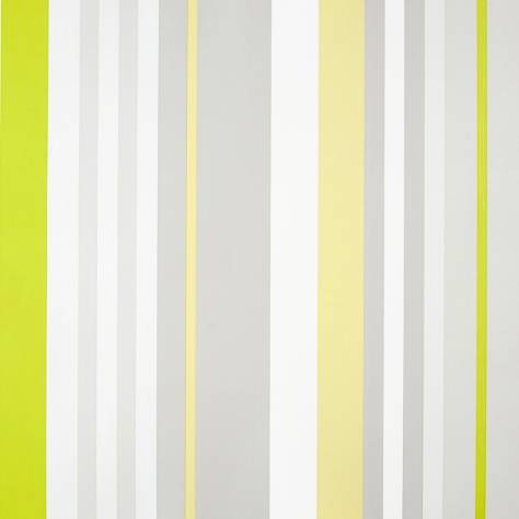 Caselio  Only Boys Wallpapers Rayure Wallpaper - Green/Yellow - 64877194