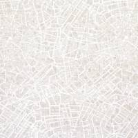 Street Map Wallpaper - Grey