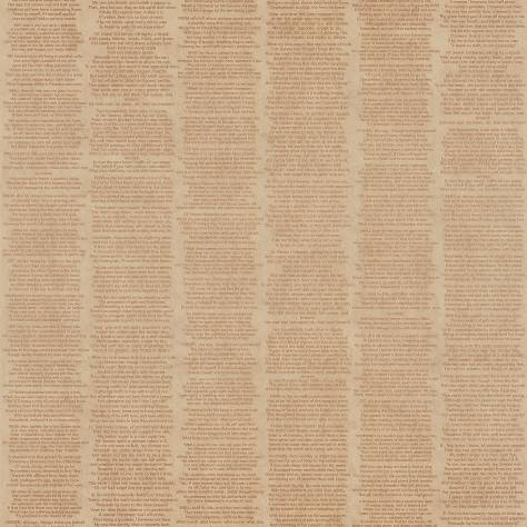 Caselio  Words Wallpaper Poeme Wallpaper - Neutral - 67152056