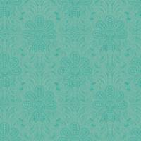 Gatsby Wallpaper - Turquoise